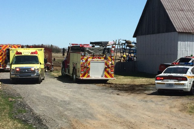 Un septuagénaire est mort écrasé sous un tracteur... (Photo collaboration spéciale, Éric Beaupré)