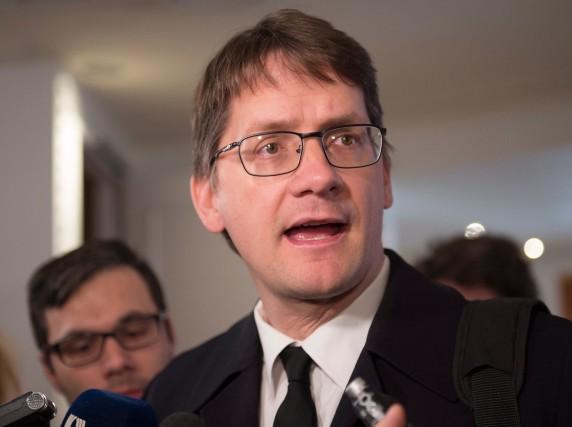 Sylvain Gaudreault... (La Presse Canadienne, Jacques Boissinot)