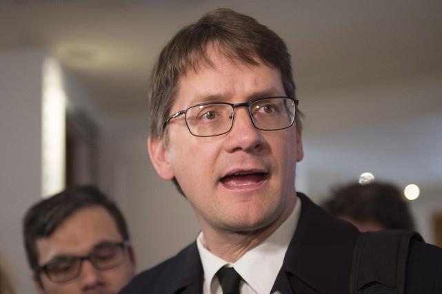 Le député du Parti québécois dansJonquière, Sylvain Gaudreault.... (PHOTO JACQUES BOISSINOT, LA PRESSE CANADIENNE)