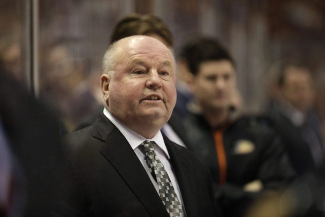 Bruce Boudreau.... (Archives La Presse Canadienne)