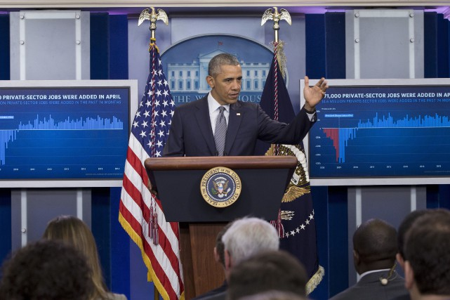 Barack Obamaa invité les républicains à examiner en... (AP, Carolyn Kaster)