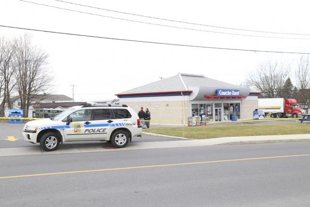Quatre personnes ont été arrêtées en lien avec... (Fournie par le Service de police de Granby)