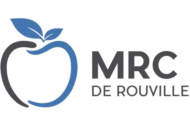 Le nouveau logo symbolise, sans surprise, une pomme,... (Fournie par la MRC de Rouville)