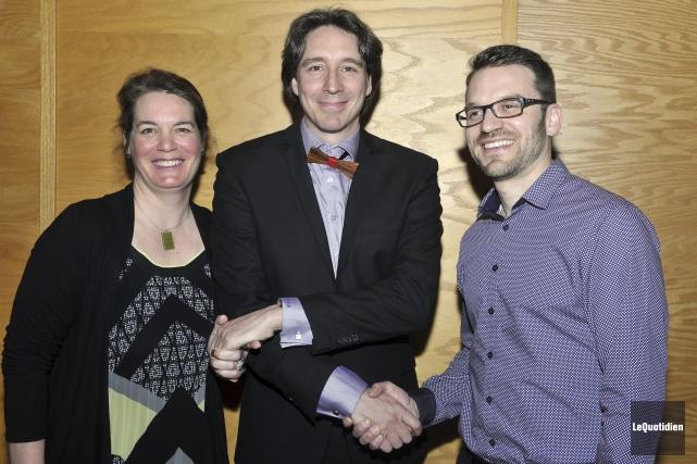 Directrice générale et président de l'Orchestre symphonique du... (Photo Le Quotidien, Rocket Lavoie)