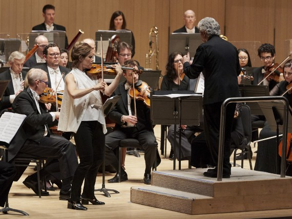 La violoniste Leila Josefowicz à la première canadienne... (Courtoisie, Malcolm Cook)