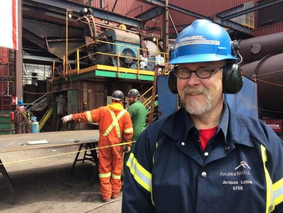 JacquesLajoie a été nommé leader en santé et... (Photo fournie par ArcelorMittal Exploitation minière Canada)
