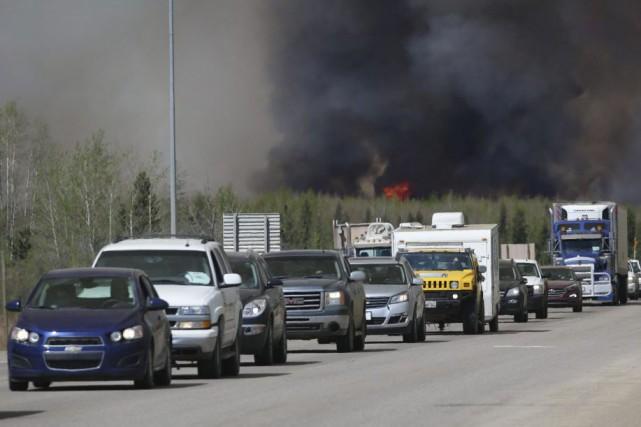 Certains des habitants de la région touchée par... (AFP, Cole Burston)