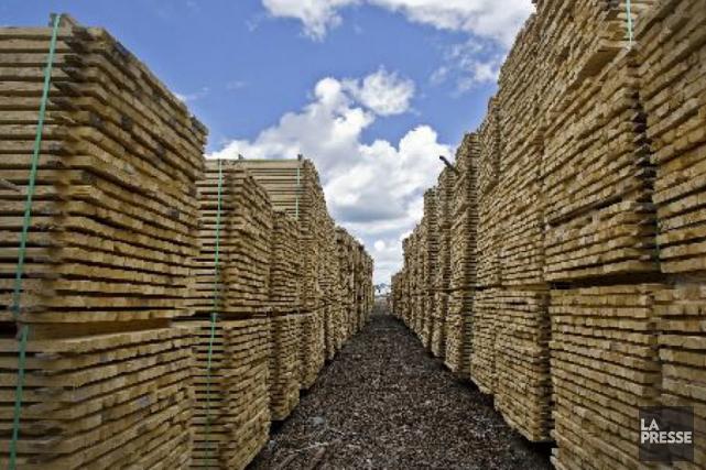 Bien qu'elles souhaitent un nouvel accord sur le bois d'oeuvre avec les... (La Presse)