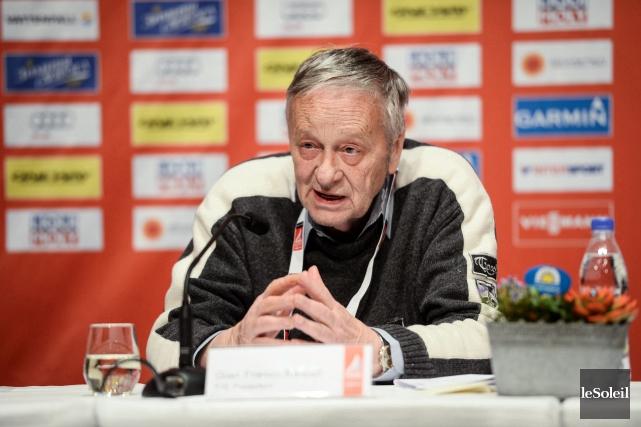 Gian Franco Kasper, président de la Fédération internationale... (Photothèque Le Soleil)