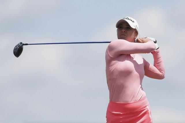 Anne-Catherine Tanguay a raté la coupe par deux... (AFP, Matt Sullivan)