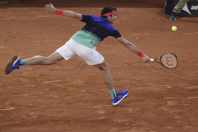 Milos Raonic s'est défendu comme il a pu,... (Javier Soriano, AFP)