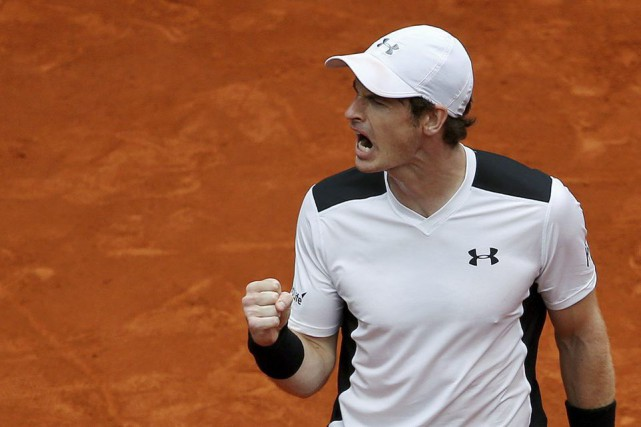 Andy Murray a vaincu Rafael Nadal en deux manches.... (PHOTO ANDREA COMAS, REUTERS)