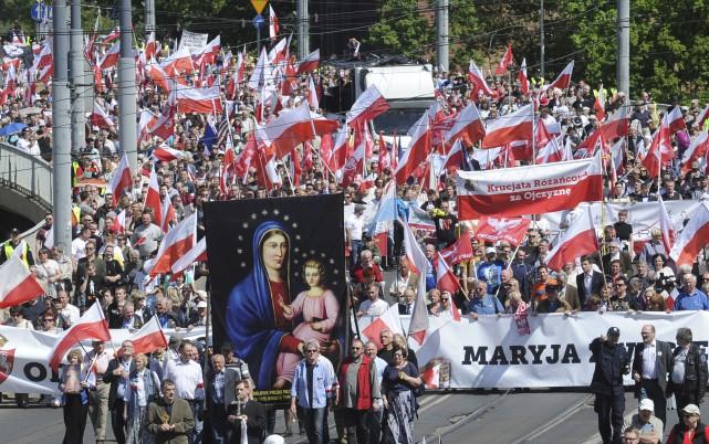 Il s'agit de l'une des plus importantes manifestations... (AP, Alik Keplicz)