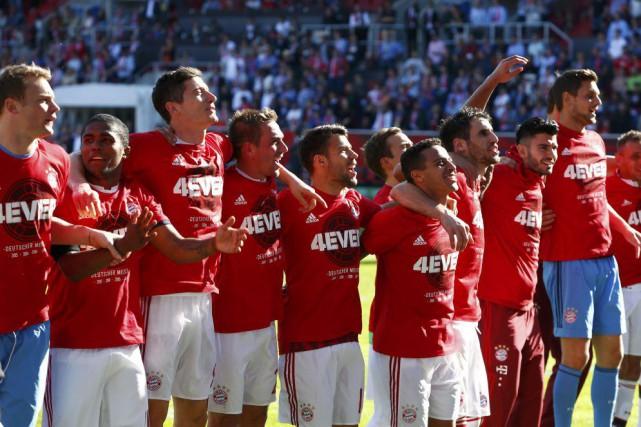 Avec seulement 16buts encaissés, le Bayern est également... (PHOTO MICHAELA REHLE, REUTERS)