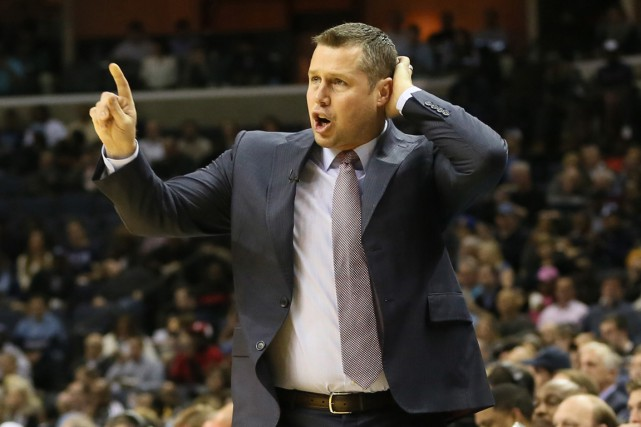Dave Joerger... (PHOTO NELSON CHENAULT, ARCHIVES USA TODAY)