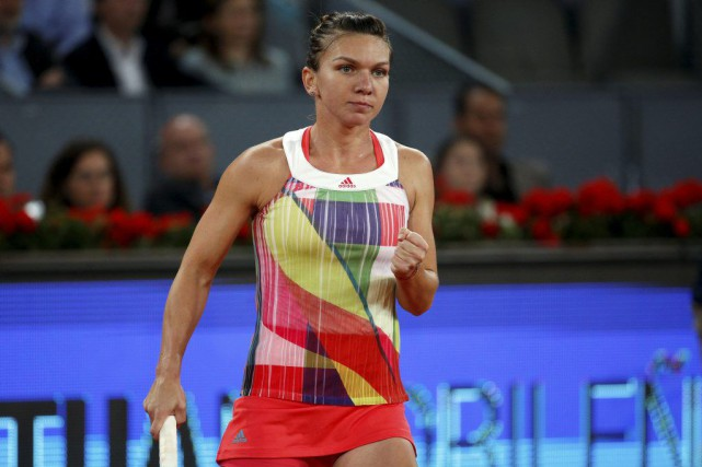 Simona Halep... (PHOTO ANDREA COMAS)