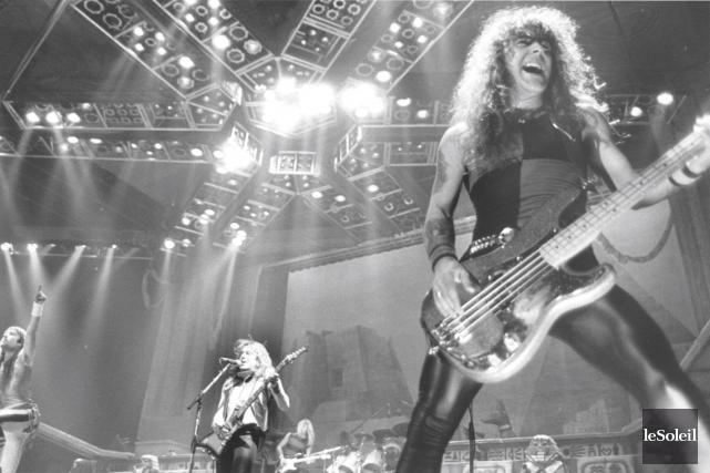 Ce n'est pas tant la performance d'Iron Maiden... (Archives Le Soleil)