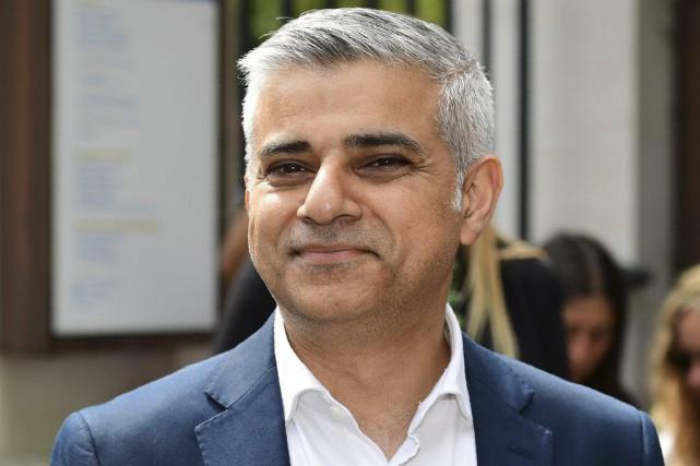 Le maire de Londres, Sadiq Khan... (AFP, Leon Neal)