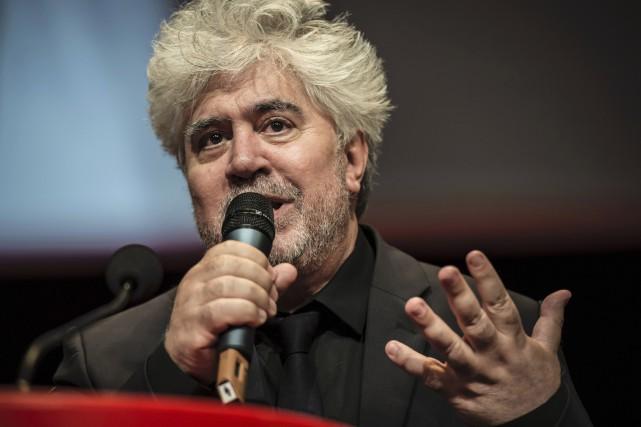 Le cinéaste espagnol Pedro Almodovar, en lice pour la cinquième fois pour la... (AFP)