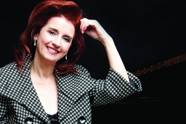 Lorraine Desmarais vient de lancer un deuxième album... (Photo courtoisie)