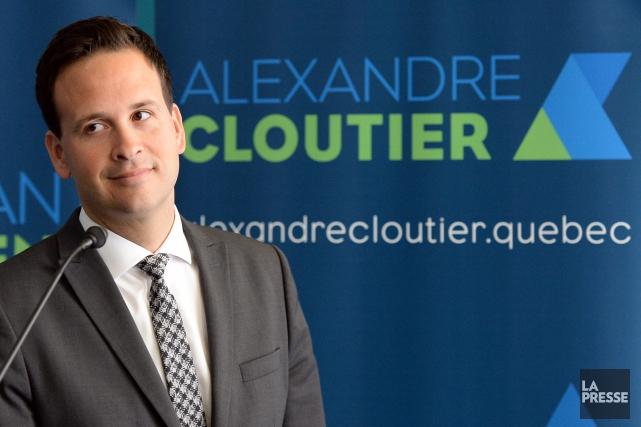 Alexandre Cloutier... (Archives, La Presse)