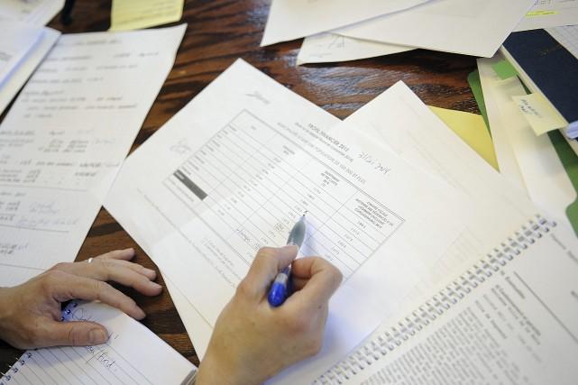 La charge fiscale moyenne des résidences de Saguenay... (Photo Le Progrès-dimanche, Mariane L. St-Gelais)