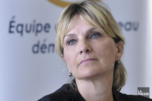 La chef de l'ERD, Josée Néron... (Photo Le Progrès-dimanche, Rocket Lavoie)