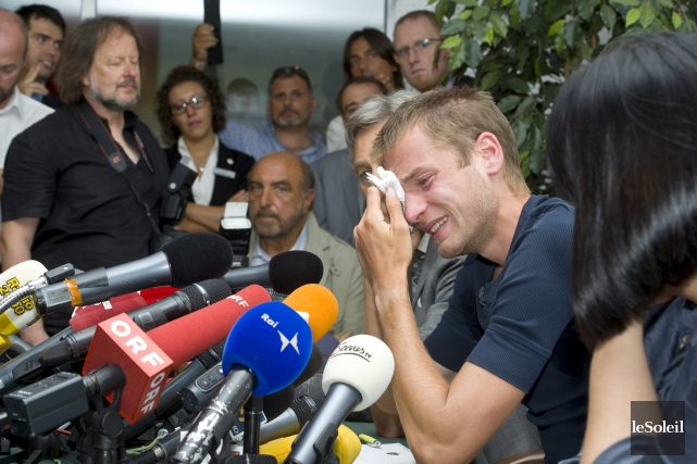 L'Italien Alex Schwazer, que l'on voit ici en... (Photothèque Le Soleil)
