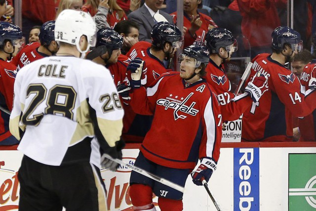 Les Capitals de Washington sont demeurés en vie en signant une victoire de 3-1... (Photo USA Today Sports)