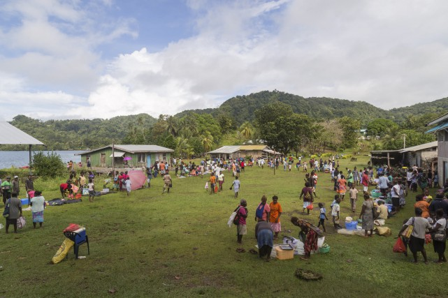 Les îles Salomon sont situées au large de... (123rf)