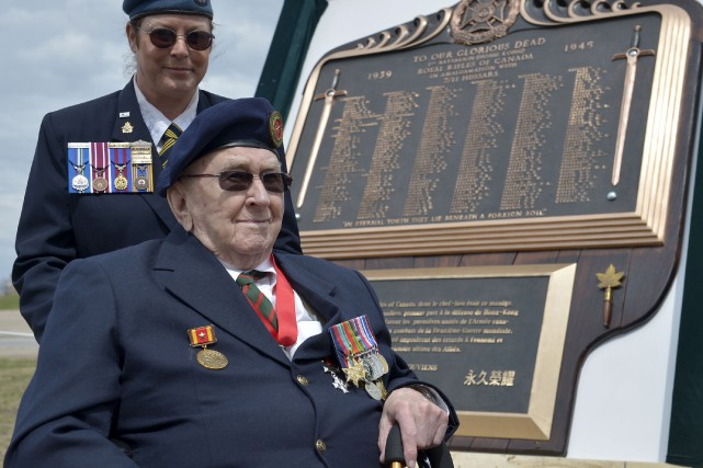 Phil Doddrige, survivant de la bataille de Hong... (Le Soleil, Yan Doublet)