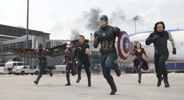 Captain America: Civil War... (PHOTO FOURNIE PAR DISNEY-MARVEL)