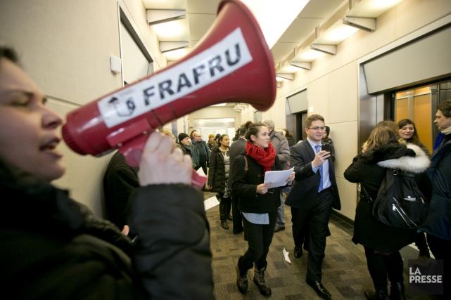 Le FRAPRU souhaite dénoncer le manque de logements... (Photo David Boily, archives La Presse)