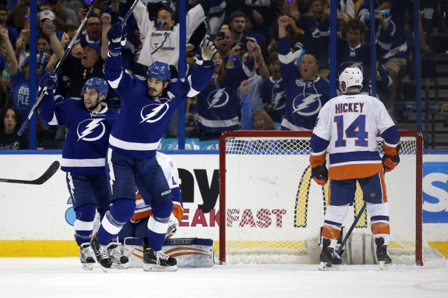 Le Lightning a perdu en finale de la... (Photo USA Today Sports)