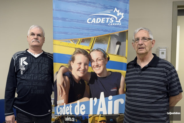60e anniversaire de l'escadron 634 des cadets de... (Photo Le Quotidien, Jeannot Lévesque)