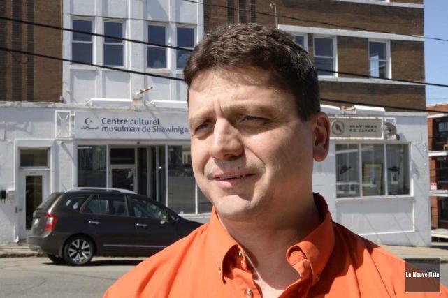 Le conseiller du district de la Cité, Alain... (Sylvain Mayer, Le Nouvelliste)