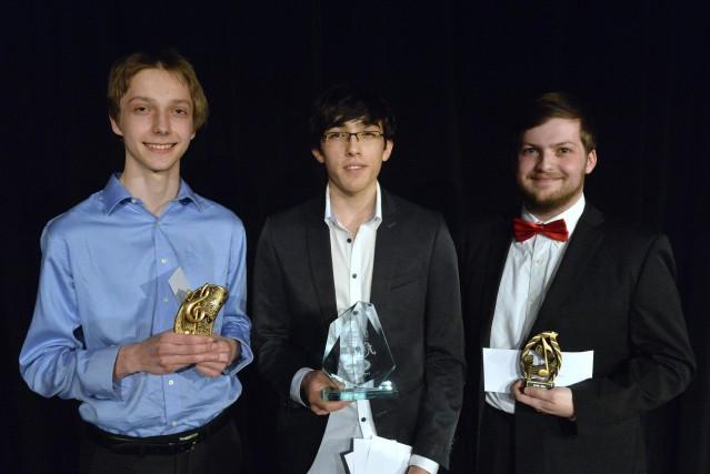 Les trois finalistes du Festival-concours de musique de... (Spectre média, Maxime Picard)