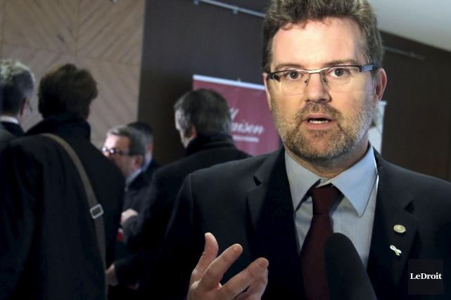 L'important pour le maire Pedneaud-Jobin n'est pas de... (Patrick Woodbury, Archives LeDroit)