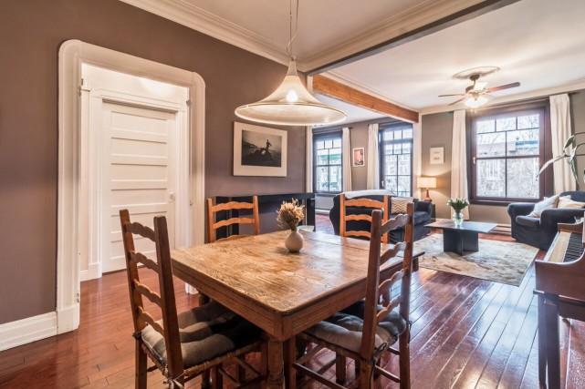 Appartement (au 3e étage), avec terrasse, au5218, rue... (PHOTO FOURNIE PAR LE COURTIER)