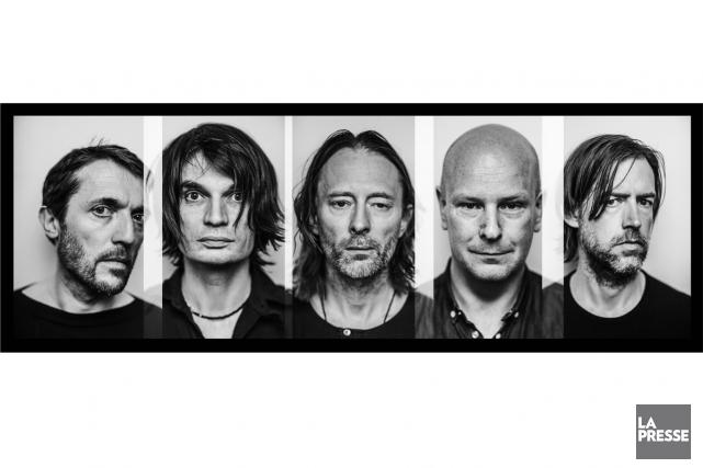 En 2016, Radiohead est le seul groupe planétaire qui jouisse à la fois d'un... (PHOTO FOURNIE PAR LA PRODUCTION)
