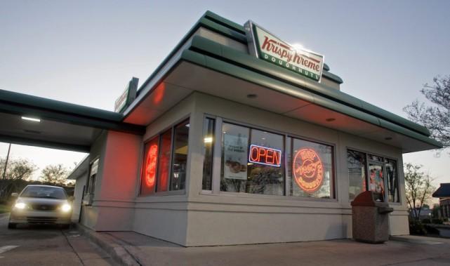 Une fois la transaction finalisée, Krispy Kreme, fondée... (Photo Chuck Burton, AP)