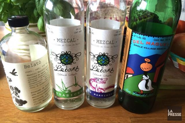 Les produits Lalocura -aux étiquettes fort jolies-ont la... (PHOTO ÉMILIE CÔTÉ, LA PRESSE)