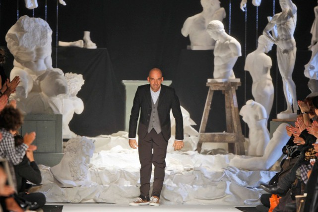 Le designer italien Antonio Marras, lors de la... (PHOTO ARCHIVES AP)