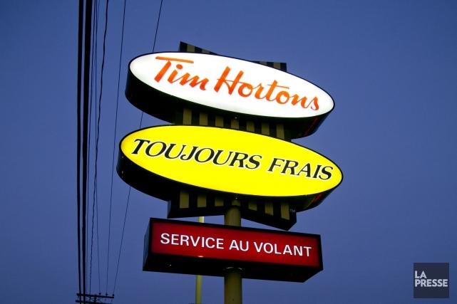 Un restaurant Tim Hortons ouvrira ses portes, dans le complexe commercial... (Archives La Presse)