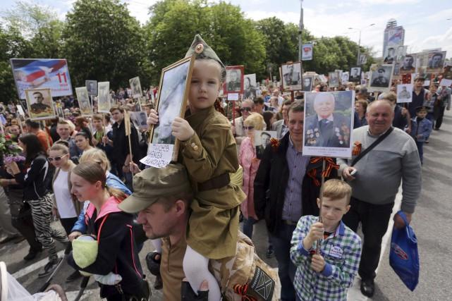 Les séparatistes prorusses de l'est de l'Ukraine ont... (AFP, Aleksey Filippov)