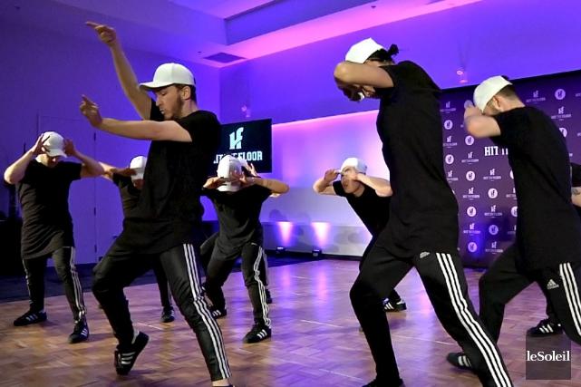 La compétition de danse multi-style Hit The Flooraura... (Le Soleil, Frédéric Matte)