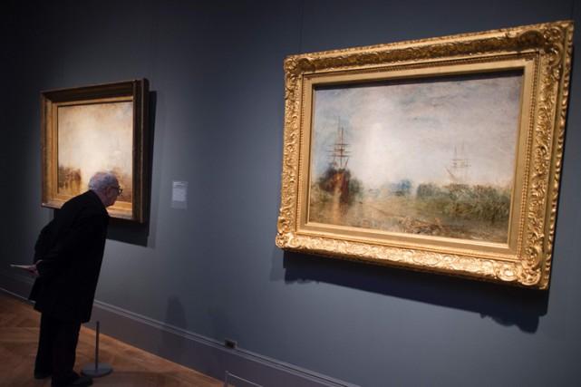 J.M.W. Turnerne connaissait que les mers britanniques et... (PHOTO AP)