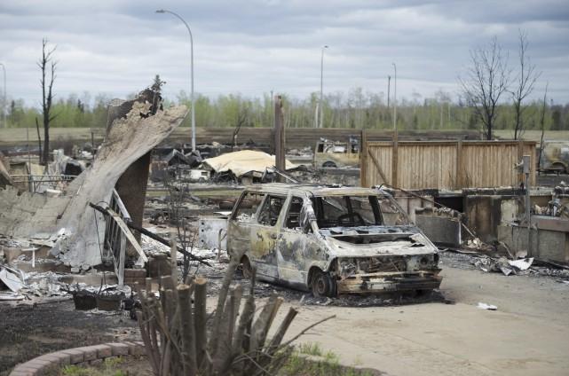 Selon certains analystes, les incendies de forêt à... (La Presse Canadienne, Jonathan Hayward)