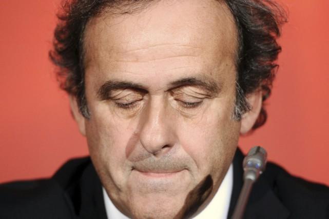 Le président de l'UEFA, Michel Platini... (Archives, AFP)
