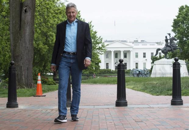 Gary Johnson aimerait récupérer les républicains consternés par... (AFP)